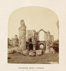 Castleacre Priory; Interior